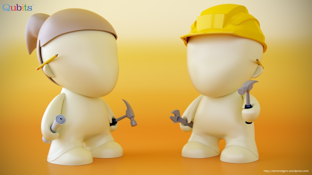 Vinyl Toy Construction Characters
