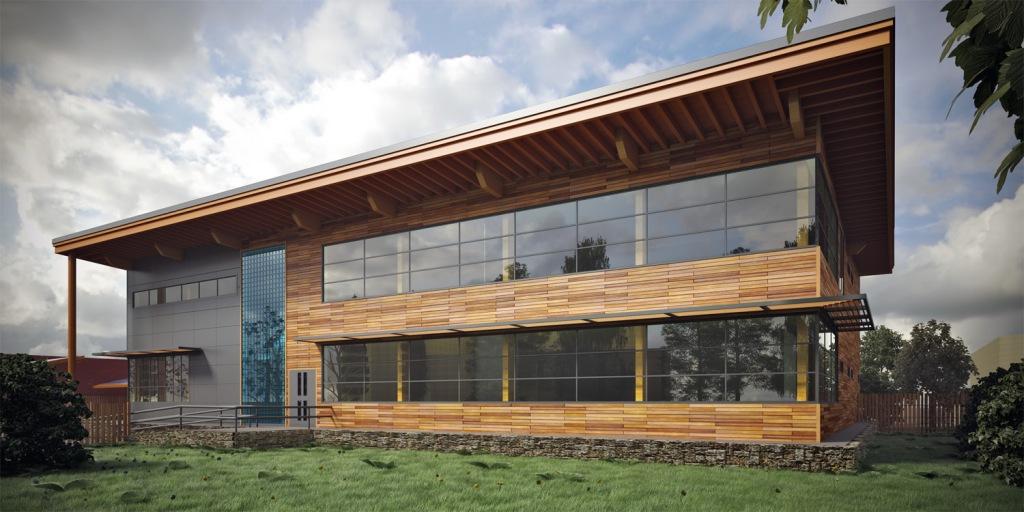 Technology Centre Exterior Visualisation