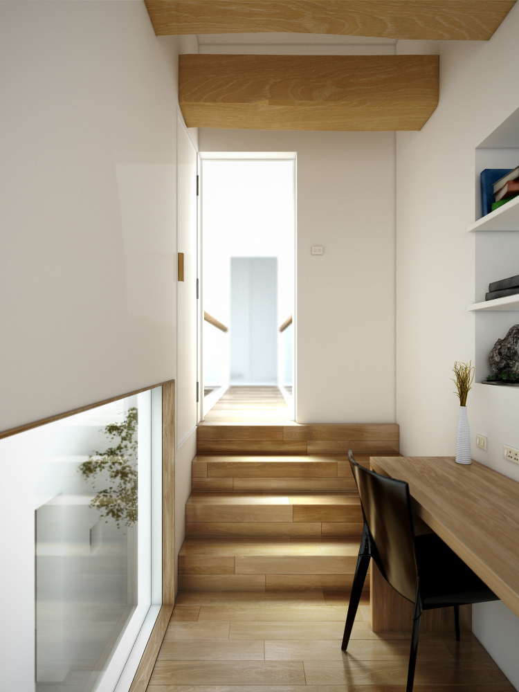 House-in-Goido interior render